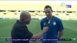 شاهد..حسام باولو يجيب : هل تعمد تسجيل هدفه الأول فى طنطا ؟