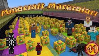 Joker Minecraft'ta Yarışma Düzenliyor Minecraft Maceraları 41. Bölüm Örümcek Adam Minecraft