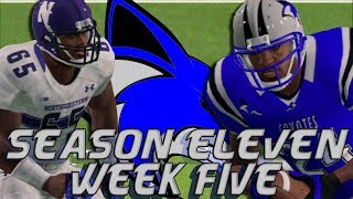 NCAA Football 14 | Sanford College Dynasty | Season 11 Week 5: VS Northwestern