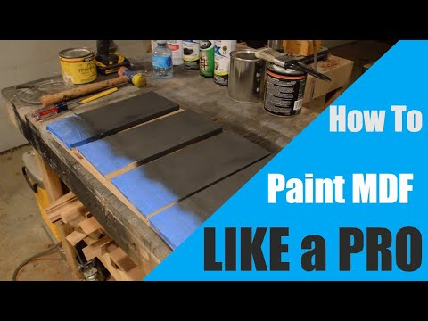 How to Paint MDF Like a Professional