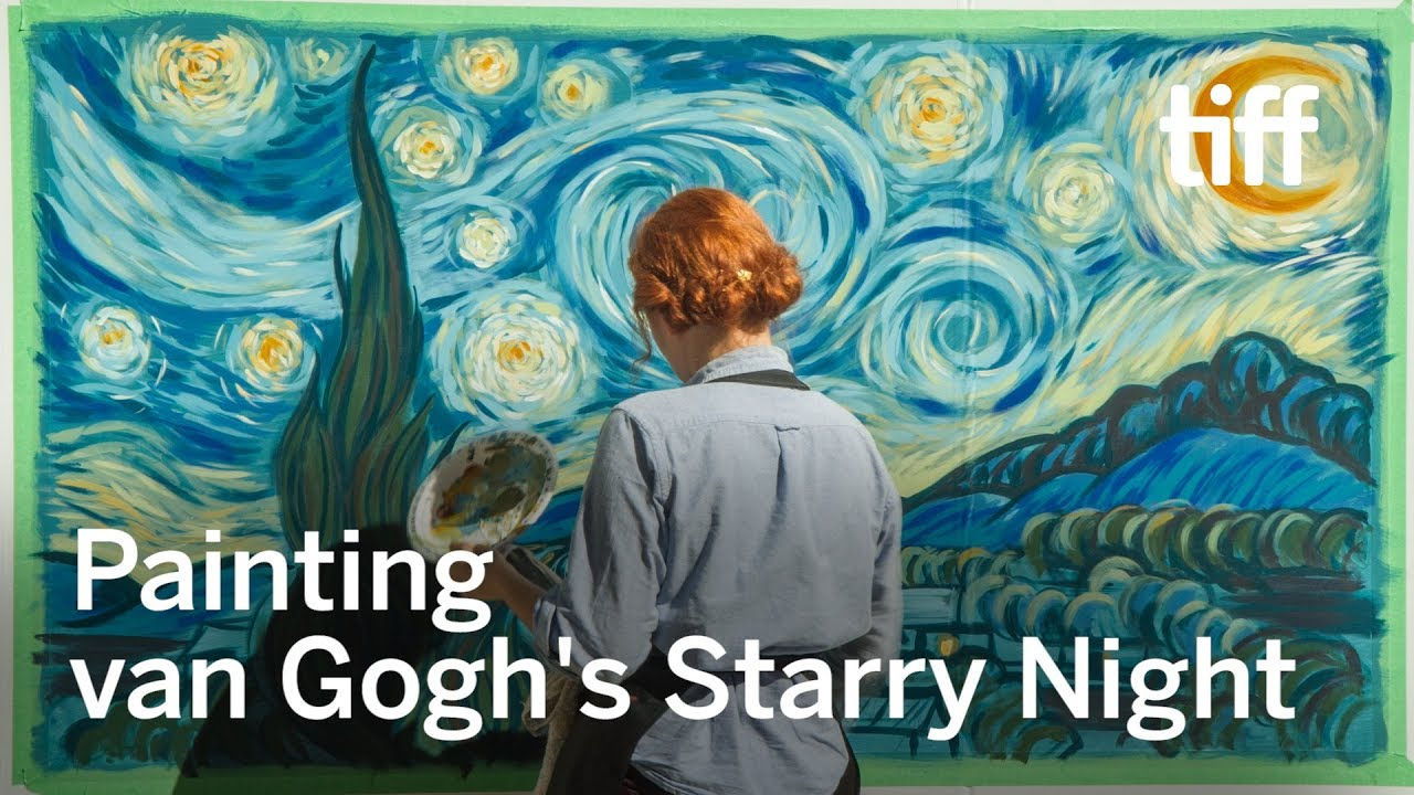 time lapse of van gogh s starry night loving vincent tiff  time lapse of van gogh s starry night loving vincent tiff 2017