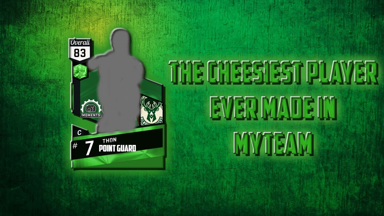 Download THE CHEESIEST CARD IN MYTEAM - EMERALD THON MAKER - NBA 2K17 MYTEAM