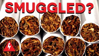 Tobacco Smuggler Attempts To Fool Border Guards! | Customs