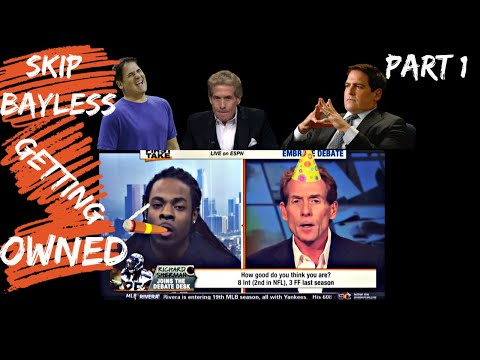 Skip Bayless Seriously Humiliated🤣🤮😢🤦‍♂️ | Part 1