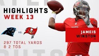 Jameis Winston Highlights vs. Panthers