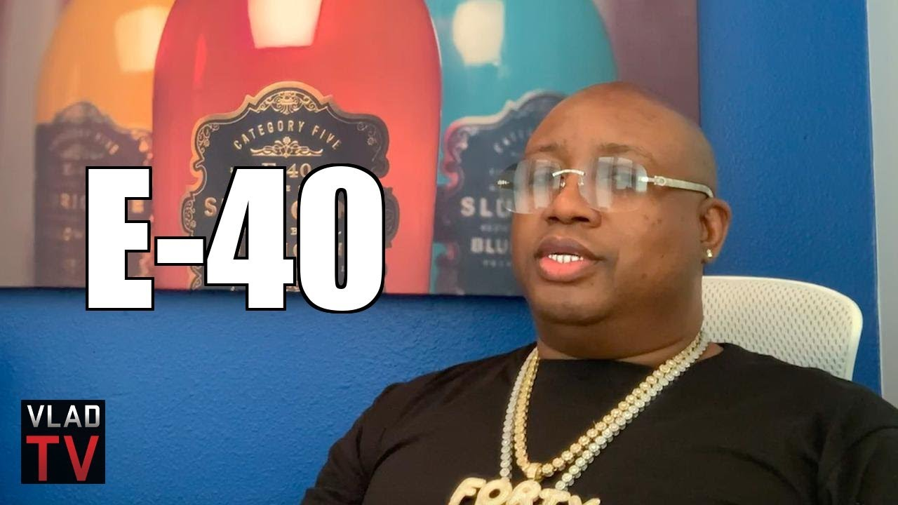 E-40 on How Base Rock (Crack) Brought Money & Addiction to Vallejo in the 80s (Part 1)