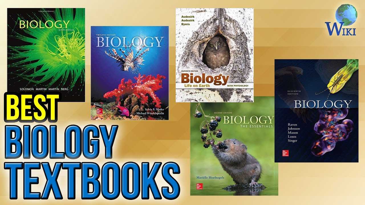 10 Best Biology Textbooks 2017