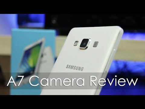 Samsung Galaxy A7 Camera Review including Front Facing Camera