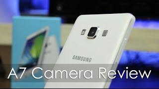 Samsung Galaxy A7 Camera Review including Front Facing Camera
