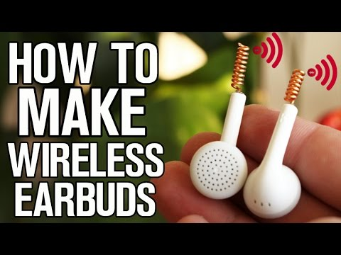 Thumbnail: How to make your Earbuds Wireless!