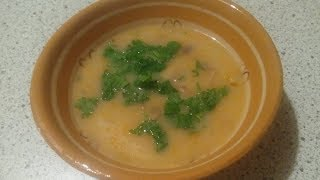 Вкусный грибной суп. Самый легкий и быстрый рецепт.