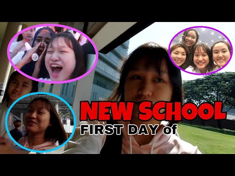 FIRST DAY of  *NEW SCHOOL* in singapore (republic polytechnic)