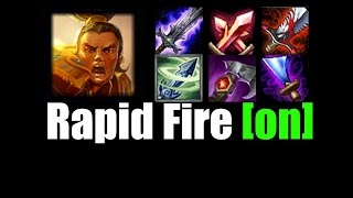 2.5 Max Attack Speed Xin Zhao (Demonstration/Bots) [NOT URF]