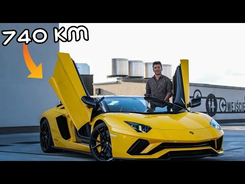 Jeżdżę Lamborghini Aventador S Roadster za 2.500.000 zł! | Hi_5