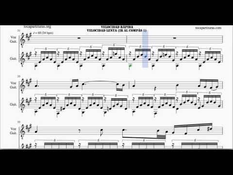 Ave Maria by Schubert Guitar and Voice Sheet Music