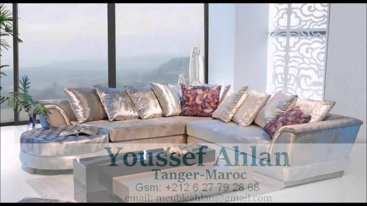 Salon Marocain et Européen - Decor d\'intérieur 2016 - YouTube