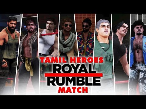 WWE2K19 - Tamil Heroes 10-Man Royal Rumble Match thumbnail