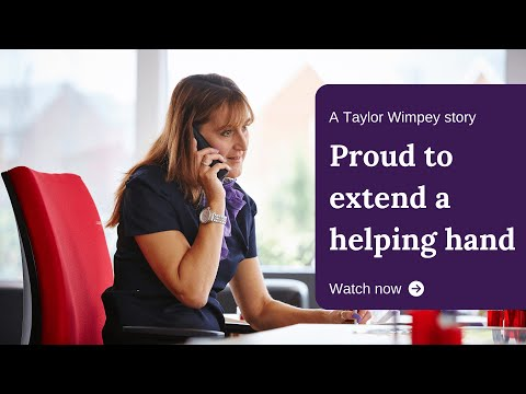 Proud to extend a helping-hand - a Taylor Wimpey story