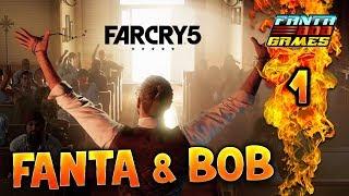 FANTA ET BOB CHEZ LES REDNECKS !! Far Cry 5 - Ep.1 - COOP