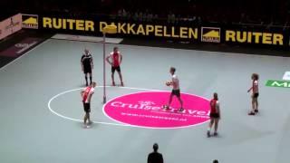 16-04-2016 Zaalkorfbal finale: PKC/SWKGroep - TOP/Quoratio (doelpunten)