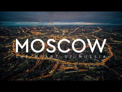 Moscow The Heart Of Russia Drone Video / Москва Сердце России Аэросъемка PushkinFlyTeam
