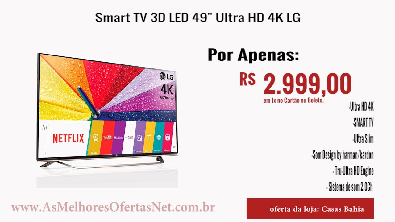 9a78df15b  Oferta Encerrada  Smart TV 3D LED 49