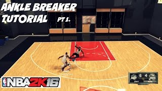 NBA 2K16| Ankle Breaker Tutorial pt 1- Pet Move Size up Badge - Prettyboyfredo