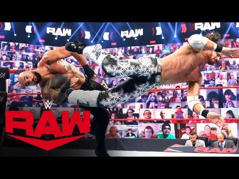 Ricochet vs. John Morrison: Raw, June 28, 2021