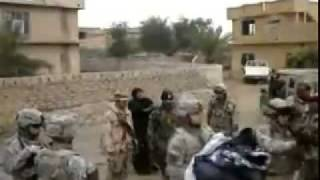 اغتصاب واهانة عراقيه مسلمه .. تصوير امريكي SAMER GEORGE JAMIL