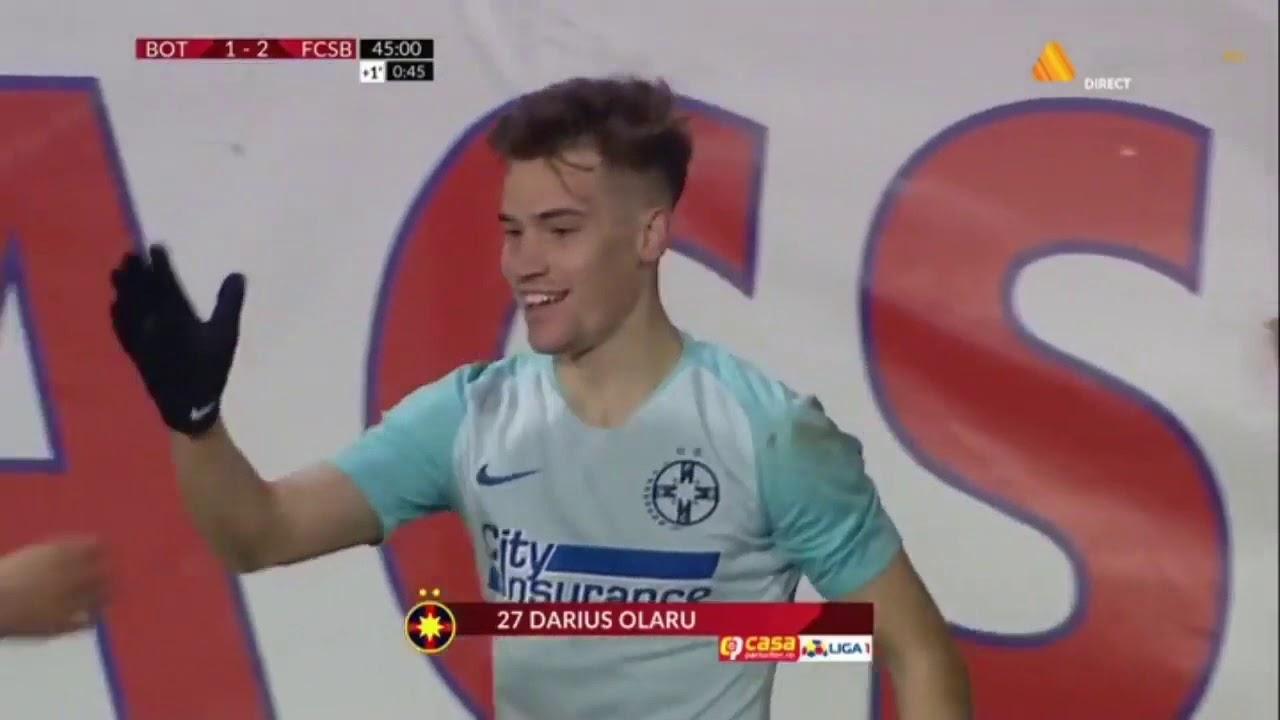 Rezumat: FC Botosani -  FCSB 2-2 I Ros-albastrii continua criza I Etapa 1, play-off, 2019-2020