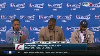 Video Channing Frye gets LeBron and Kyrie cheezin' after Game 3 win download MP3, 3GP, MP4, WEBM, AVI, FLV Oktober 2018