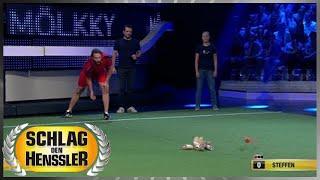 Spiel 11 - Mölkky - Schlag den Henssler