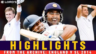 Root Double & Sangakkara Class in Last Over Thriller! | Classic Match | England v SL 2014 | Lord's