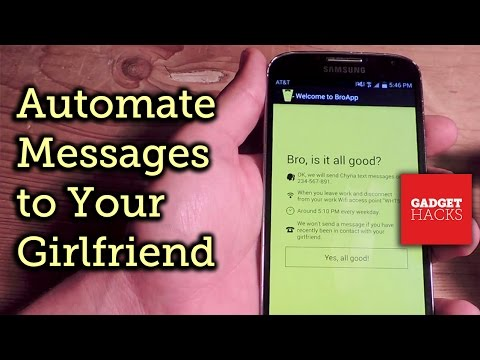 Get More Bro Time by Automating Loving Texts to Your Girlfriend - Android/iOS [How-To]