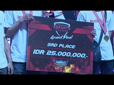GRAND FINAL : INDIHOME ESPORTS LEAGUE 2019 - MOBILE LEGENDS