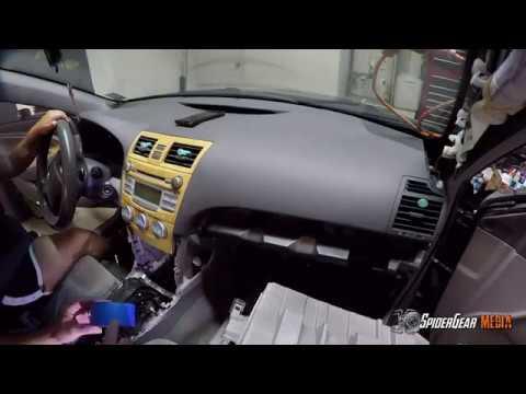 2007 Toyota Camry Evaporator Core Removal