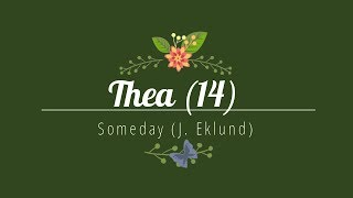 Thea (14) performing Someday by Jennifer Eklund