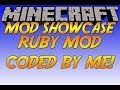 Minecraft Mod Showcase: Ruby Mod (Made by me!)