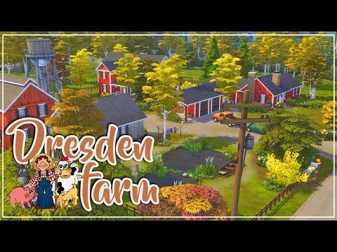 The Sims 4 || DRESDEN FARM 🐴🐄 ||