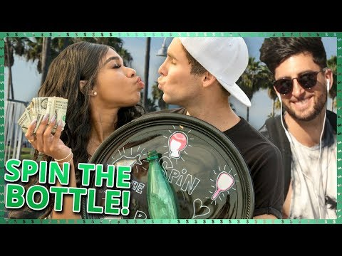 SPIN THE BOTTLE CHALLENGE!!| Do It For The Dough w/  Tristan Tales and Teala Dunn
