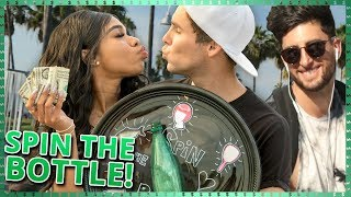 SPIN THE BOTTLE CHALLENGE!!| Do It For The Dough w/ Teala Dunn and Tristan Tales