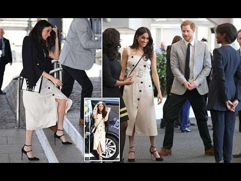 Meghan Markle attend a reception with delegates from the Commonwealth Youth Forum