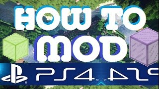 How to Mod Minecraft PS3 PS4 EASY MOD TUTORIAL
