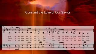 MP3 MBA Constant the Lord of Our Savior - an original hymn Photo