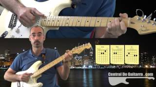 Aint no Sunshine Tutorial de Guitarra Acordes Bill Withers