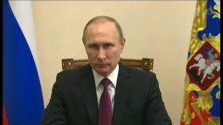 Neodkladné prohlášení V.V. Putina celému světu - 22.02.2016 Titulky CZ