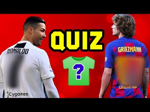 Can You Guess The Footballer's Shirt Number? ⚽️ FOOTBALL QUIZ 2019/20