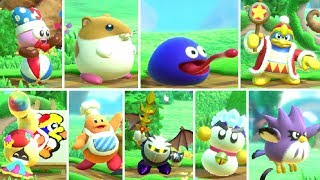 Kirby Star Allies - All Characters (DLC Included)