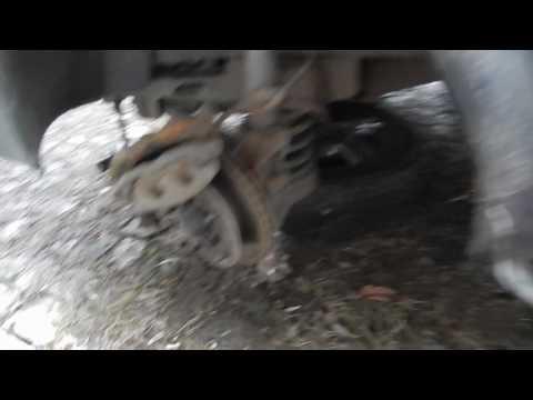 замена тормозной колодки форд транзит