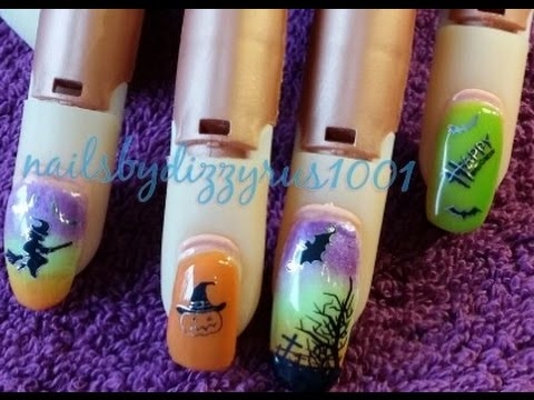 easy-halloween-nail-art-with-water-decals-from-bornprettystore